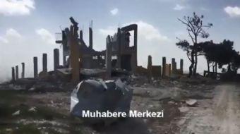 Afrin'de terör izleri bir bir siliniyor... Afrin/Hacıhasanlı bölgesinde, hava harekâtı ile imha edil