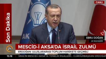 Cumhurbaşkanı Erdoğan: Harem-i Şerif'e yeni kısıtlamalar getirilmesi kabul edilemez