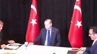 Cumhurbaşkanı Recep Tayyip Erdoğan,Türk Hava Yolları(THY),'nın Boeing'e sipariş ettiği 40 uçaklık im
