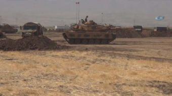 Türk Silahlı Kuvvetlerince (TSK), Habur Sınır Kapısı yakınlarında başlatılan tatbikat 5'inci gününde