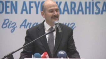 İçişleri Bakanı Süleyman Soylu, geçmiş nesillerin çektiği sıkıntıların çekilmemesi için çalıştıklar