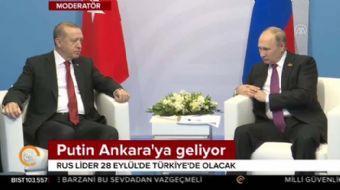 Putin Türkiye'ye geliyor!