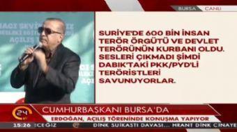 Cumhurba�kan� Erdo�an: Bug�n d�nyan�n b�y�k kesiminde hala idam uygulamas� var. Biz �ehidimizin kan�