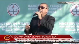 Cumhurba�kan� Erdo�an: Gelmi�iz d�nyaya millet, milliyet nedir ��retmi�iz. Bu millet �yle bir millet