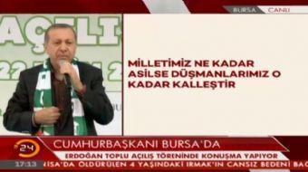 Cumhurba�kan� Erdo�an: �dam karar� bana geldi�inde ben onaylar�m.