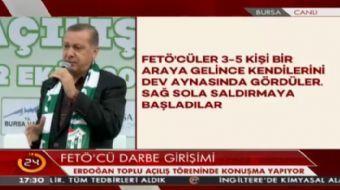 Cumhurba�kan� Erdo�an: Hesaplar�n �zerinde bir hesap vard�r, o hesapta Allah'�n hesab�d�r.