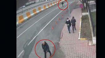 Tekirdağ'da biri ölü, biri sağ ele geçirilen DHKP-C üyesi iki teröristin, İl Emniyet Müdürlüğü çevre