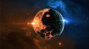 Yakınlardaki, soğuk, küçük bir yıldızın etrafında, bilindik şekliyle hayatın anahtarı olan, hepsi de