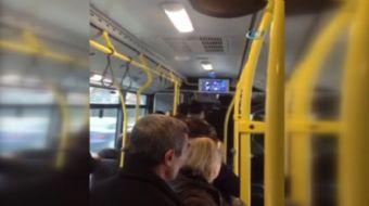 Ankara'da yolcularla tartışan EGO otobüsü şoförü, tüm kapıları kilitleyerek yolcuları 40 dakika boyu