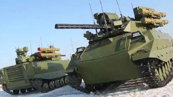 İnsansız tanklar TSK´ya teslim edilip Zeytin Dalı Harekatı´nda kullanılacak