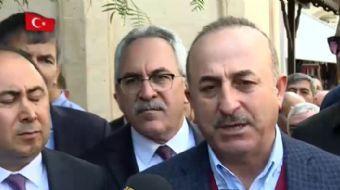 Dışişleri Bakanı Mevlüt Çavuşoğlu basın açıklamasında Hollanda´nın 1915 olaylarına ilişkin açıklamal