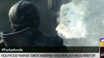 Hollywood filmli 'Spectral'de ekranlara gelen bir sahne dikkat çekti. Pelin Çift'in TRT 1 ekranların