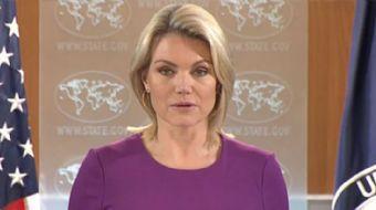 ABD Dışişleri Bakanlığı Sözcüsü Heather Nauert, ABD?nin ve koalisyon güçlerinin, Türkiye?nin operasy