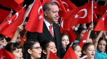 Cumhurbaşkanı Recep Tayyip Erdoğan, Beştepe Millet Kültür ve Kongre Merkezi'nde 23 Nisan Ulusal Egem
