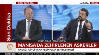 Sağlık Bakanı Recep Akdağ, 24 Ankara Temsilcisi Melik Yiğitel'in sorularını yanıtladı. Bakan Akdağ,