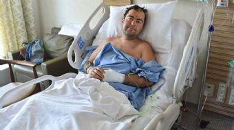 Depremde Yunanistan'da yaşamını yitiren 2 kişiden biri olan İzmirli Sinan Kurtoğlu'nun yanında, bulu