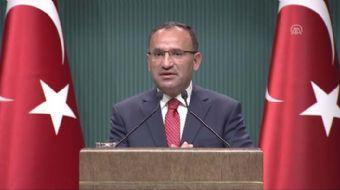 Başbakan Yardımcısı ve Hükümet Sözcüsü Bozdağ: '(İstanbul Büyükşehir Belediye Başkanı Kadir Topbaş'ı