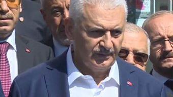 Başbakan Binali Yıldırım, Kuzey Irak'ta yapılacak referandumla ilgili, 'Israrın bedeli olacak, karar