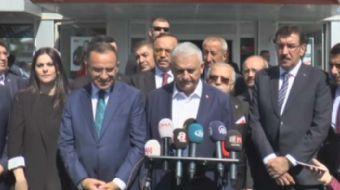 Başbakan Binali Yıldırım, Tezkere ve Milli Güvenlik Kurulu ile ilgili olarak değerlendirmede bulundu
