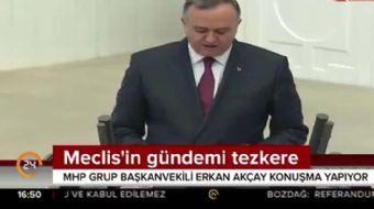 MHP Grup Başkan Vekili Akçay: PKK, PYD, DEAŞ taşeron terör örgütleridir, tehdit Türkiye'ye yönelikti
