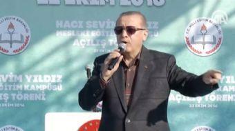 Cumhurba�kan� Erdo�an, '�imdi El Bab, ama 'oraya inmeyin' diyorlar. Mecburuz, inece�iz. Niye? ��nk�