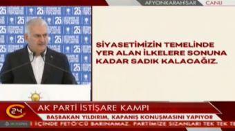Ba�bakan Binali Y�ld�r�m: Yeni Anayasa ve ba�kanl�k sistemiyle ilgili �al��malar�m�z� tamamlad�k. Bu