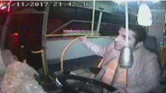 Aydın'da bir özel halk otobüsü şoförü, apandisi patlayan ve minibüse bindikten sonra fenalaşan hast
