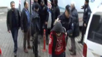 Trabzon İl Emniyet Müdürlüğü Terörle Mücadele Şubesi (TEM) 9 Kasım'da yapmış olduğu operasyon sonras