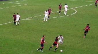 Spor Toto 3. Lig takımlarından Düzcespor'da Kerem Çağatay, yaklaşık 80 metreden attığı gol ile hafta
