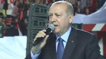 Cumhurbaşkanı Recep Tayyip Erdoğan:İstanbul´da bir üniversitede çıktılar orada imanlı milli yerli ge