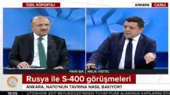 Milli Savunma Bakanı Fikri Işık, 24 Ankara temsilcisi Melik Yiğitel'e önemli açıklamalarda bulundu.