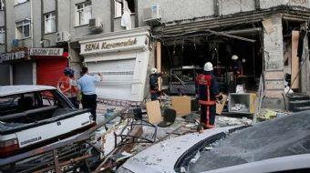 Bakırköy'de bir iş yerinde doğalgazdan kaynaklandığı değerlendirilen patlama yaşandı. Olayda bir kiş