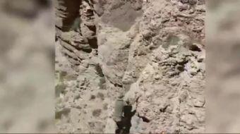 Operasyonlar kapsamında dağlarda terörist avındaki Jandarma Özel Harekata davetsiz misafir sürprizi.