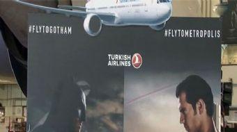 """Türk Hava Yolları """"Batman v Superman: Adaletin Şafağı' filmi için Warner Bros ile sponsorluk anlaşma"""