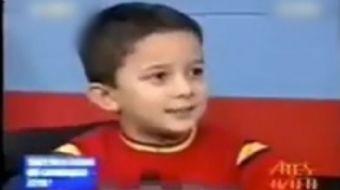 Reha Muhtar'ın programına konuk olan bir çocuğun ülkenin bekası için yaptığı konuşma herkese örnek o