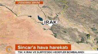 Türk Silahlı Kuvvetleri, Irak'ın kuzeyindeki Sincar'da PKK hedeflerine hava harekatı düzenlediğini a