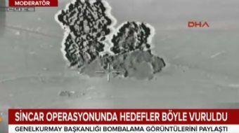 Genelkurmay Başkanlığı bombala görüntülerini paylaştı.... Türk Silahlı Kuvvetleri, Irak'ın kuzeyinde