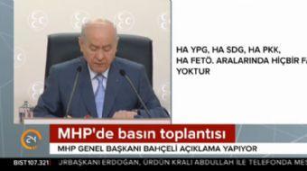 MHP lideri Bahçeli: Soylu duruş, soysuz oyuncuları tarih boyunca kepazeye çevirmiştir