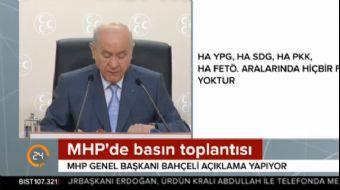 MHP lideri Bahçeli: Türk milleti efendilik taslayanları, parmak sallayanları her zaman şaşkına çevir