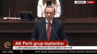 Cumhurbaşkanı Recep Tayyip Erdoğan: Biz Müslümanlar için mübarek beldeleri korumak imkan değil, iman