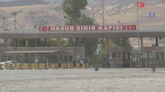 Şırnak'ın Silopi ilçesinde bulunan Habur Sınır Kapısı'nın tek taraflı olarak kapatıldığı belirtildi.