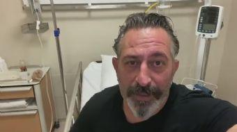 Cem Yılmaz hastaneye kaldırıldı! Gösterisi ertelendi