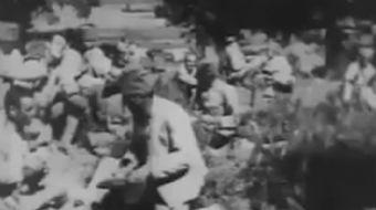 TRT arşivlerinden çıkan Kurtuluş Savaşı'ndaki askerlerimizin mola verdiği görüntüler