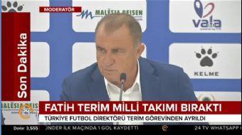 Türkiye Futbol Direktörü Fatih Terim, TFF yetkilileriyle bir araya geldi. Deneyimli teknik adam, kar