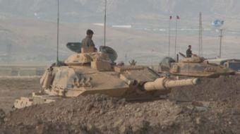 Şırnak'ın Silopi ilçesi Habur Sınır Kapısı yakınında Türk Silahlı Kuvvetleri (TSK) tarafından başlat