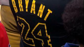 NBA'de Efsaneye Saygı Gecesi #KobeBryant