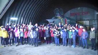 MSB: 'Öğrenciler 1'inci Ana Jet Üs Komutanlığında Misafir Edildi'