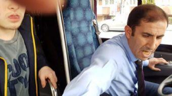 Bursa'da zihinsel engelli çocuğu ve babasını özel halk otobüsünden kovan şoför hakkında Büyükşehir B
