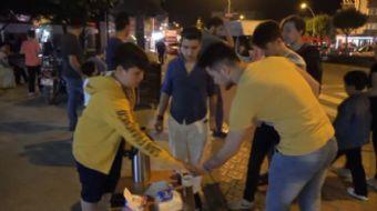 Karabük'ün Safranbolu İlçesinde yaşayan 12 yaşındaki Ahmet Efe Ünal, ihtiyaç sahibi çocuklara maddi