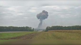 Ukrayna'da bir askeri cephanelikte daha patlama yaşandı. Vinnitsa iline bağlı Kalinovka kasabasında